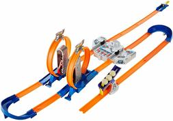 Hot Wheels Track Builder Total Turbo Takeover Set   NEW