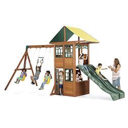 Treasure Cove Wooden Swing Set by KidKraft