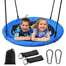 """Tree Swing,Swing for Kids,40"""" Large Round Outdoor Saucer Swi"""