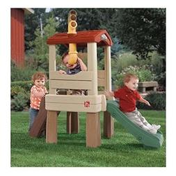 "Treehouse Climber Playset with 33"" Slide 19"" high platform"