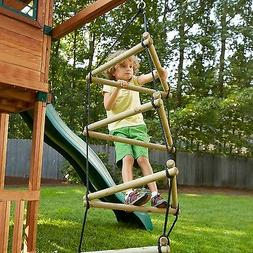Swing-N-Slide NE 3023 Triangle Rope Ladder Swing Set Climber