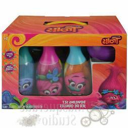Dreamworks Trolls Bowling Set Toy Gift Set For Kids Indoor O