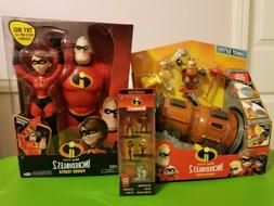 The Incredibles 2 Tunneler Vehicle Play Set with Junior Supe