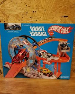 Hot Wheels Turbo Garage Play Set
