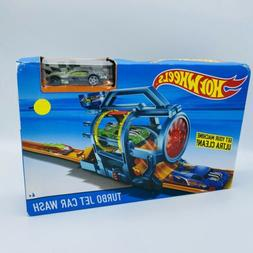 Hot Wheels Turbo Jet Car Wash Playset