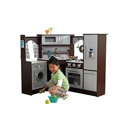 KidKraft Ultimate Corner Play Kitchen - Espresso