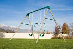 Ultra Sturdy Playset Swing Trapeze Kids Metal Heavy Duty Lif