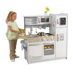 Uptown Natural Wooden Play Kitchen Vintage Toddler Pretend S