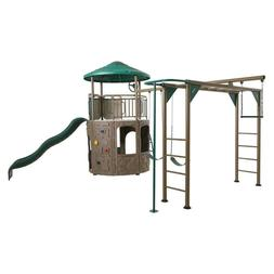 UV Resistant Free Standing Adventure Tower Deluxe 1600-lb Lo