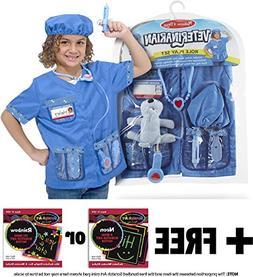 Veterinarian Costume Set +FREE Melissa & Doug Scratch Pad Bu