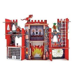 Hape Viking Castle  Playset  Ride The Dragon Dollhouse
