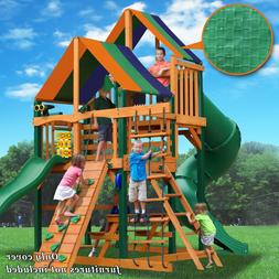 Waterproof Replacement Canopy Cover Backyard Wood Playset 50
