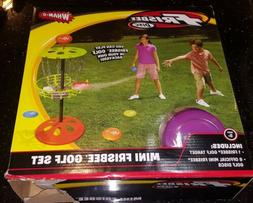 Wham-O Mini Frisbee Golf Disc indoor and outdoor Toy Set, Ca