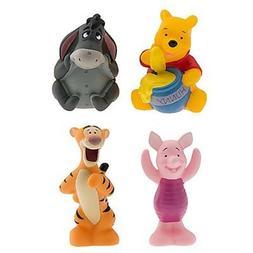 Disney Set of 4 Winnie the Pooh Character Bath Toys Tigger E