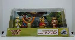 Disney Winnie The Pooh Figure Play Set Toy Cake Topper NIB