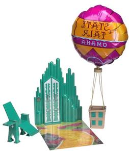The Wizard of Oz Barbie Playset Emerald City Balloon Chair A