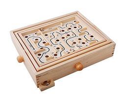 Topwon Wood Labyrinth Table Maze / Balance Board Table Maze