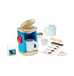 Melissa & Doug® Wooden Brew and Serve Coffee Playset
