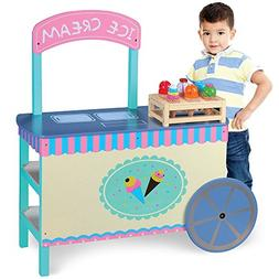 Wooden Wonders The Incredible Ice Cream Cart with 6 Free Con