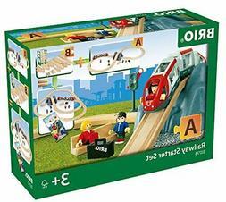 BRIO World - 33773 Railway Starter Set | 26 Piece Toy Train