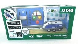 BRIO World 33863 App Enabled Engine Toy Train for Kids Ages