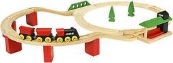 BRIO World Classic Deluxe Railway Set 25 Piece Wood Train Se