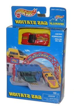 Hot Wheels World Gas Station - Includes Red Cobra