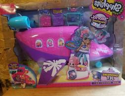 SHOPKINS WORLD VACATION Jet Airplane Playset for Shoppies -