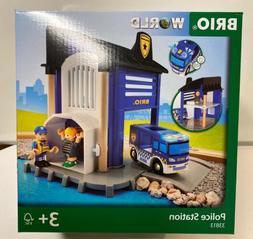 Brio World Wooden Railway Police Station #33813