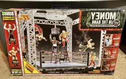 WWE Money in the Bank Playset Ladder Match Ring Jeff Hardy M