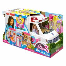 &x200BBarbie Ambulance Hospital Playset Toys &amp Games